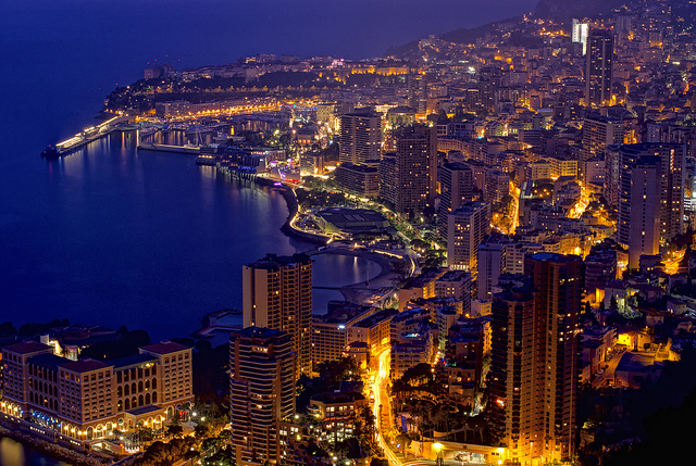 monaco by night de Teillas