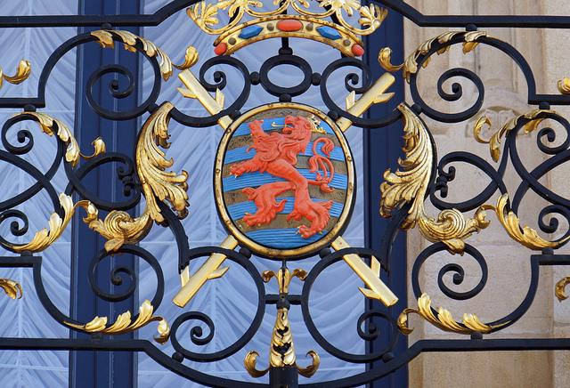 Luxembourg-5193 - Grand Ducal Palace Details par  Dennis Jarvis