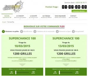 La formule Flex de SuperChance100