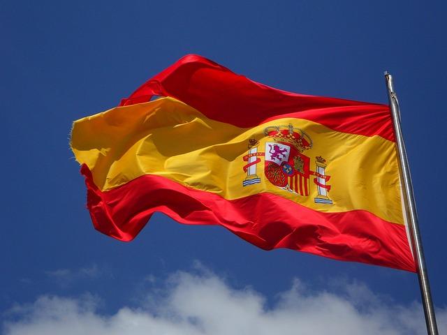 Drapeau de l'Espagne.