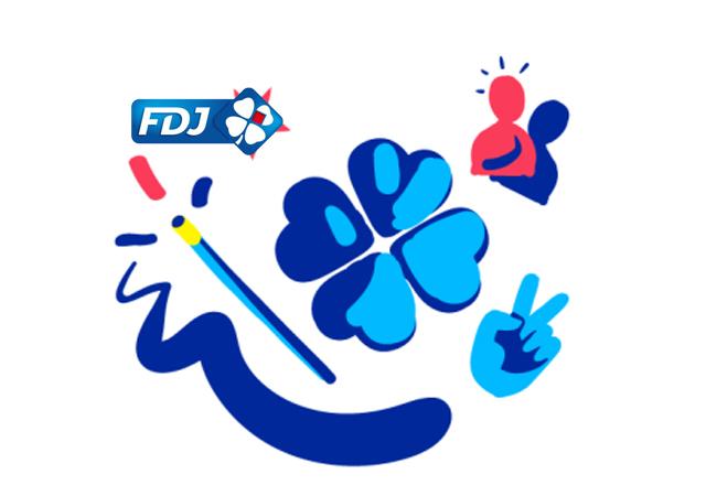 Logo de la FDJ.