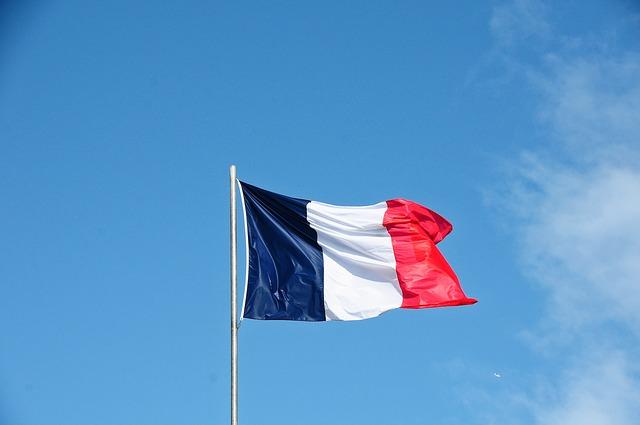 Drapeau français pour parler des victoires de l'Euro Millions en France.