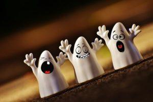 Ce sont des petits fantômes.