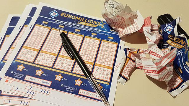 Des grilles d'EuroMillions pour le vendredi 13.