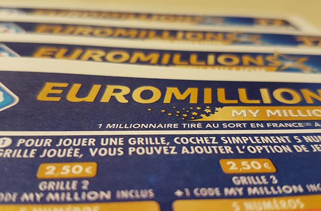 Premier tirage EuroMillions de décembre.